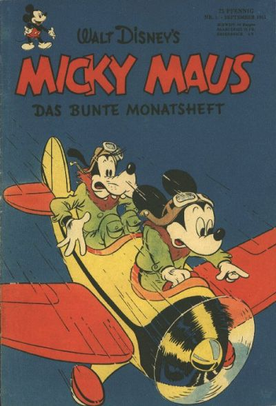 Micky Maus Sonderheft Comic Book Back Issues by A1 Comix
