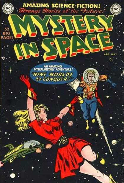 Mystery in Space Comic Book Back Issues by A1 Comix