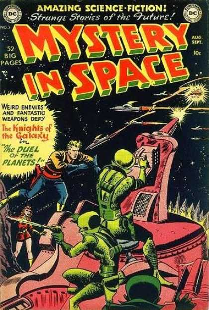 Mystery in Space A1 Comix Comic Book Database