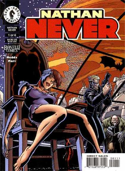 Nathan Never Comic Book Back Issues by A1 Comix