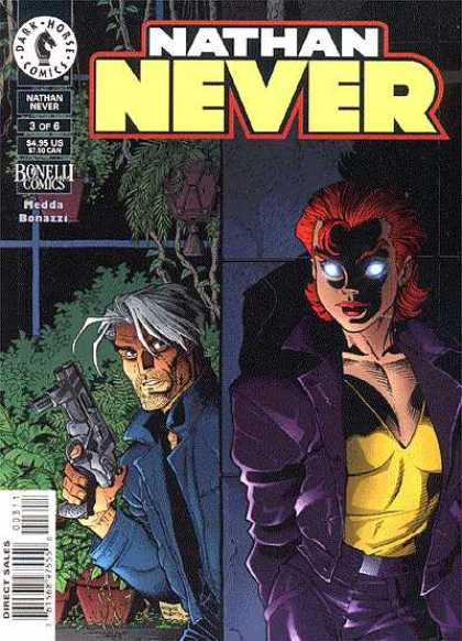 Nathan Never A1 Comix Comic Book Database