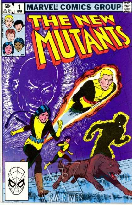 New Mutants Comic Book Back Issues by A1 Comix