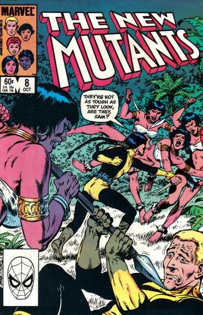 New Mutants, The A1 Comix Comic Book Database