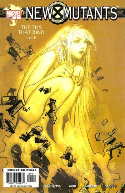 New Mutants (Volume 2) A1 Comix Comic Book Database