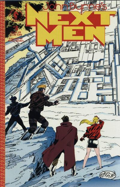 John Byrne's Next Men A1 Comix Comic Book Database