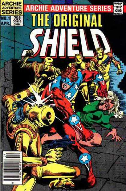 Original Shield Comic Book Back Issues by A1 Comix
