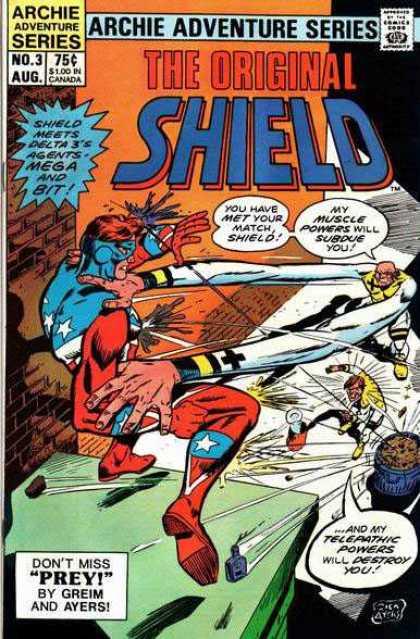 Original Shield A1 Comix Comic Book Database