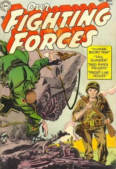 Our Fighting Forces Comic Book Back Issues by A1 Comix