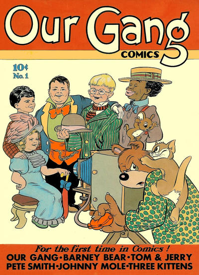 Our Gang with Tom and Jerry Comic Book Back Issues by A1 Comix