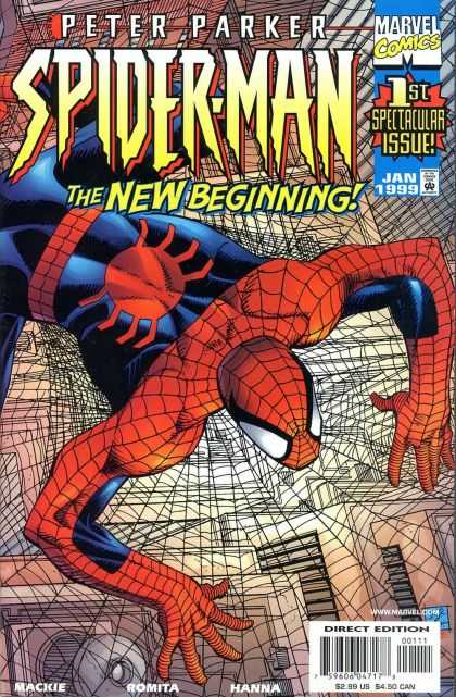Peter Parker: Spider-Man Comic Book Back Issues by A1 Comix