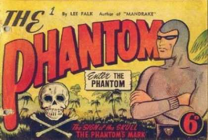 Phantom, The Comic Book Back Issues by A1 Comix