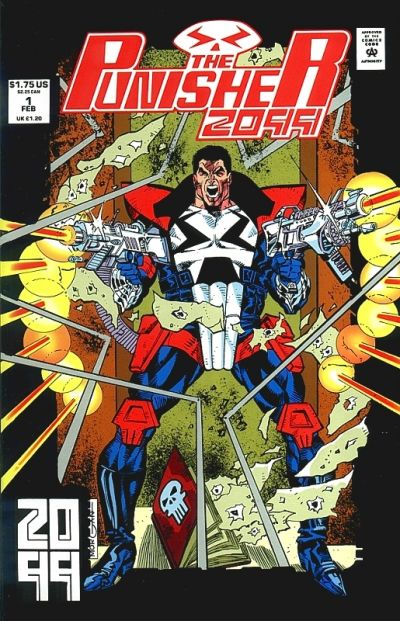Punisher, The: 2099 Comic Book Back Issues by A1 Comix
