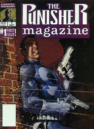 Punisher Magazine Comic Book Back Issues by A1 Comix
