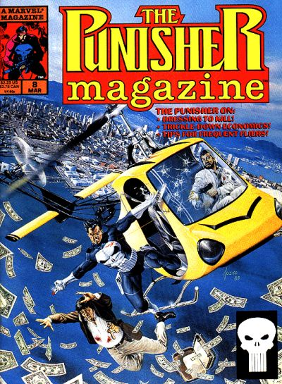 Punisher Magazine A1 Comix Comic Book Database