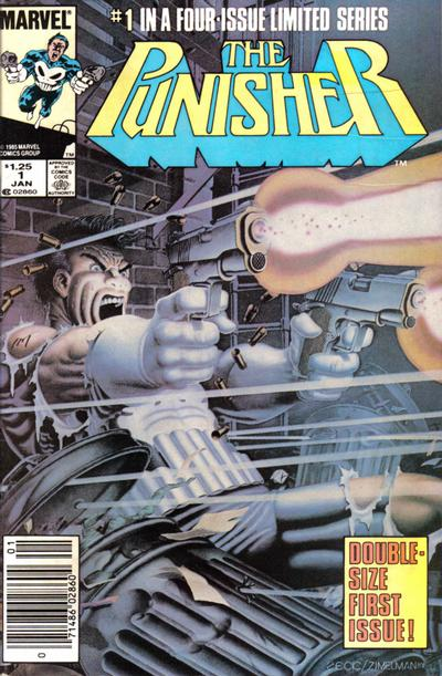 Punisher, The (1986, 5 issue series) Comic Book Back Issues by A1 Comix