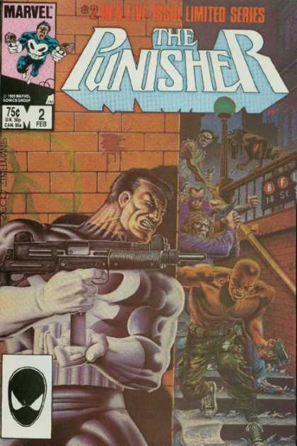 Punisher, The (1986, 5 issue series) A1 Comix Comic Book Database