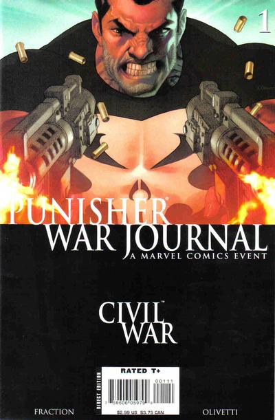 Punisher War Journal, The (2007) Comic Book Back Issues by A1 Comix
