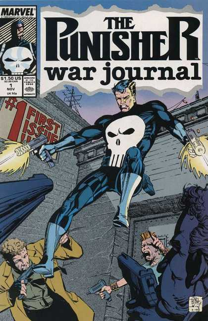 Punisher War Journal, The Comic Book Back Issues by A1 Comix