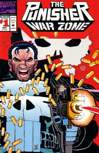 Punisher, The: War Zone Comic Book Back Issues by A1 Comix