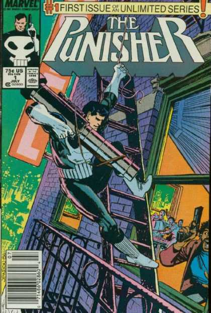 Punisher, The Comic Book Back Issues by A1 Comix