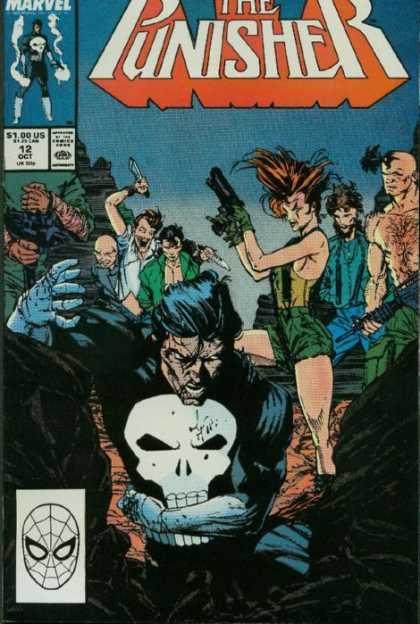 Punisher, The comic book back issue comicbook back copy