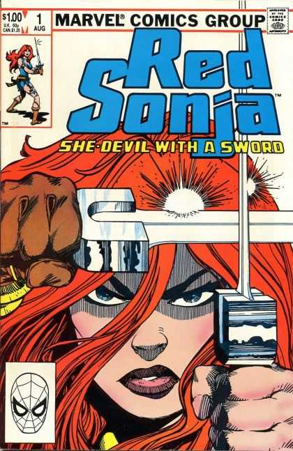 Red Sonja 1983 Comic Book Back Issues by A1 Comix