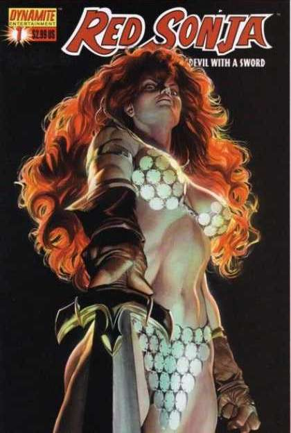 Red Sonja 2005 Comic Book Back Issues by A1 Comix