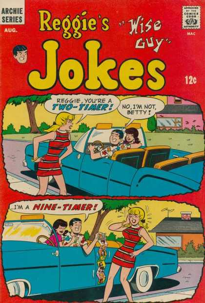 Reggie's Wise Guy Jokes Comic Book Back Issues by A1 Comix