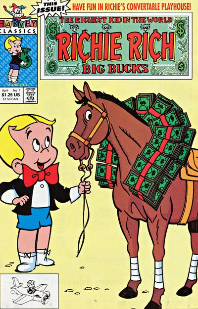 Richie Rich Big Bucks A1 Comix Comic Book Database
