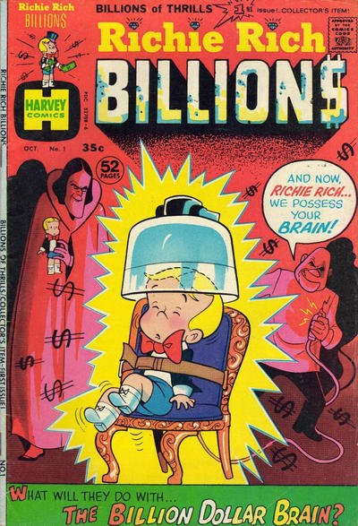Richie Rich Billions Comic Book Back Issues by A1 Comix