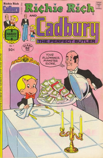 Richie Rich and Cadbury Comic Book Back Issues by A1 Comix