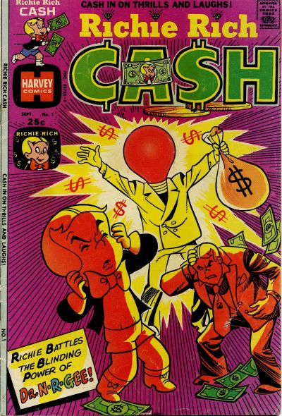 Richie Rich Cash Comic Book Back Issues by A1 Comix