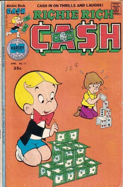 Richie Rich Cash A1 Comix Comic Book Database
