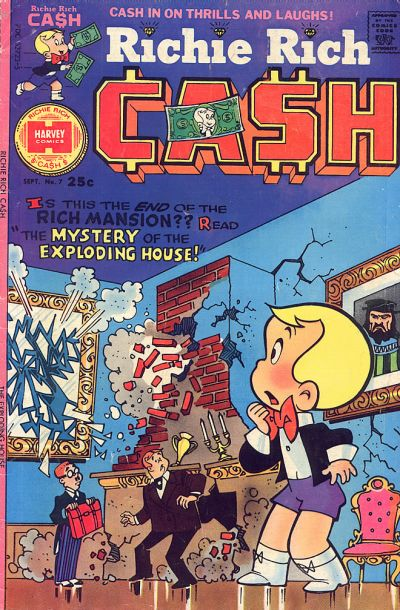 Richie Rich Cash A1 Comix Comic Book Database