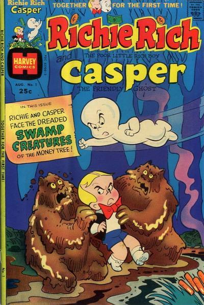 Richie Rich & Casper Comic Book Back Issues by A1 Comix
