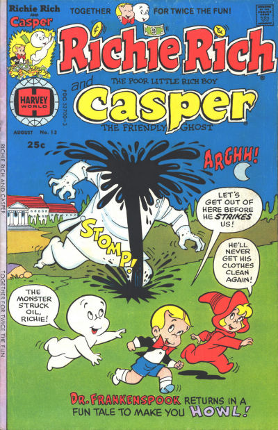 Richie Rich & Casper A1 Comix Comic Book Database