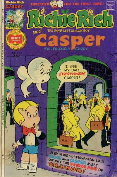 Richie Rich & Casper A1 Comix Comic Book Database