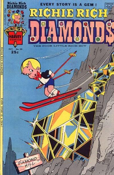 Richie Rich Diamonds A1 Comix Comic Book Database