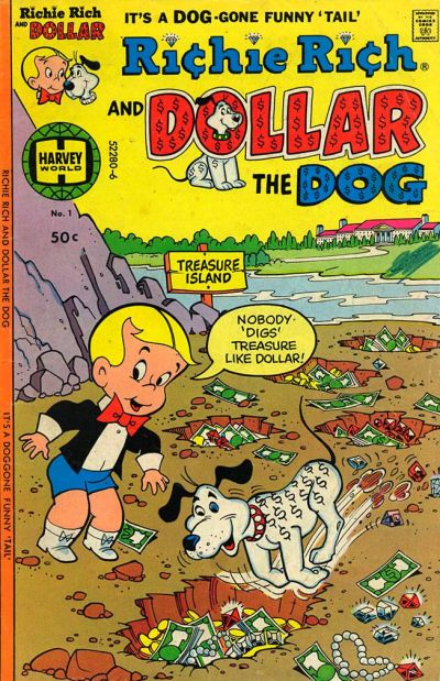 Richie Rich & Dollar the Dog Comic Book Back Issues by A1 Comix