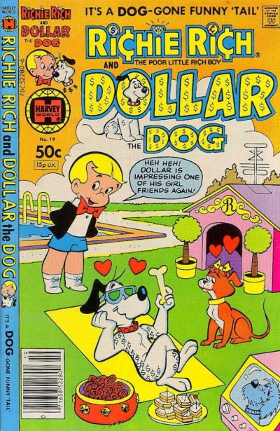 Richie Rich & Dollar the Dog A1 Comix Comic Book Database