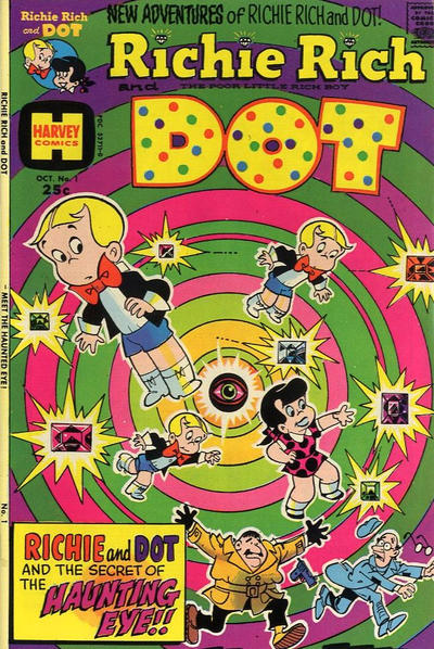 Richie Rich & Dot Comic Book Back Issues by A1 Comix