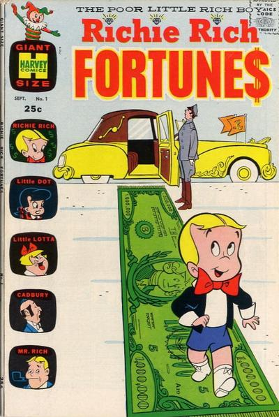 Richie Rich Fortunes Comic Book Back Issues by A1 Comix