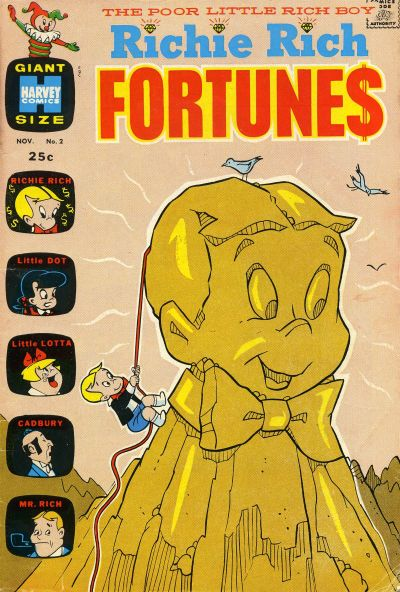 Richie Rich Fortunes A1 Comix Comic Book Database