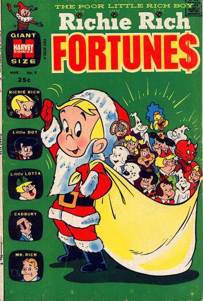 Richie Rich Fortunes A1 Comix Comic Book Database