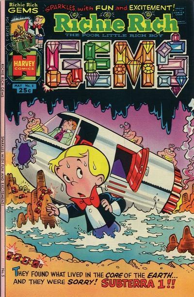 Richie Rich Gems A1 Comix Comic Book Database