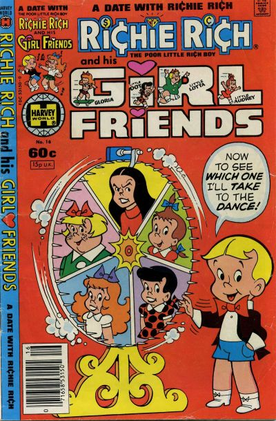 Richie Rich & His Girlfriends A1 Comix Comic Book Database