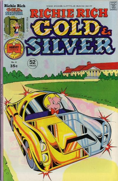Richie Rich Gold & Silver A1 Comix Comic Book Database