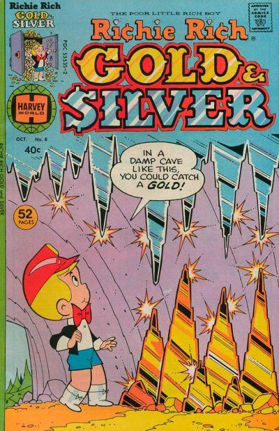 Richie Rich Gold & Silver A1 Comix Comic Book Database