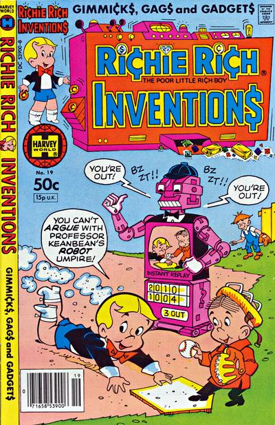 Richie Rich Inventions A1 Comix Comic Book Database