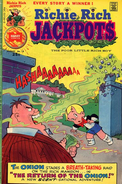 Richie Rich Jackpots A1 Comix Comic Book Database